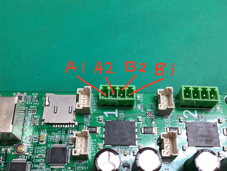 Bridge Outputs pin assign