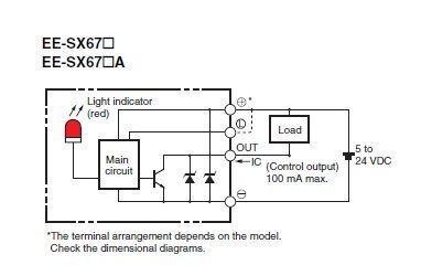 EE-SX671A Diagram