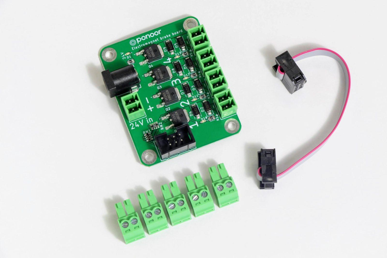 Electromagnet brake board for STEP400